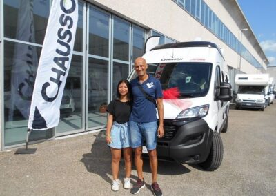 Consegna CHAUSSON V 594 FIRST LINE – Parisi