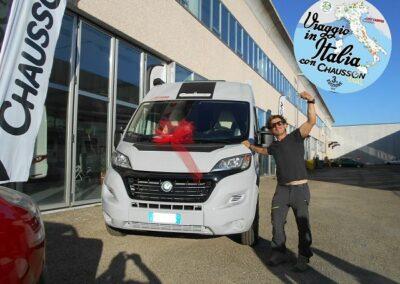 Consegna CHAUSSON V 594 ROAD LINE VIP – Capizzo